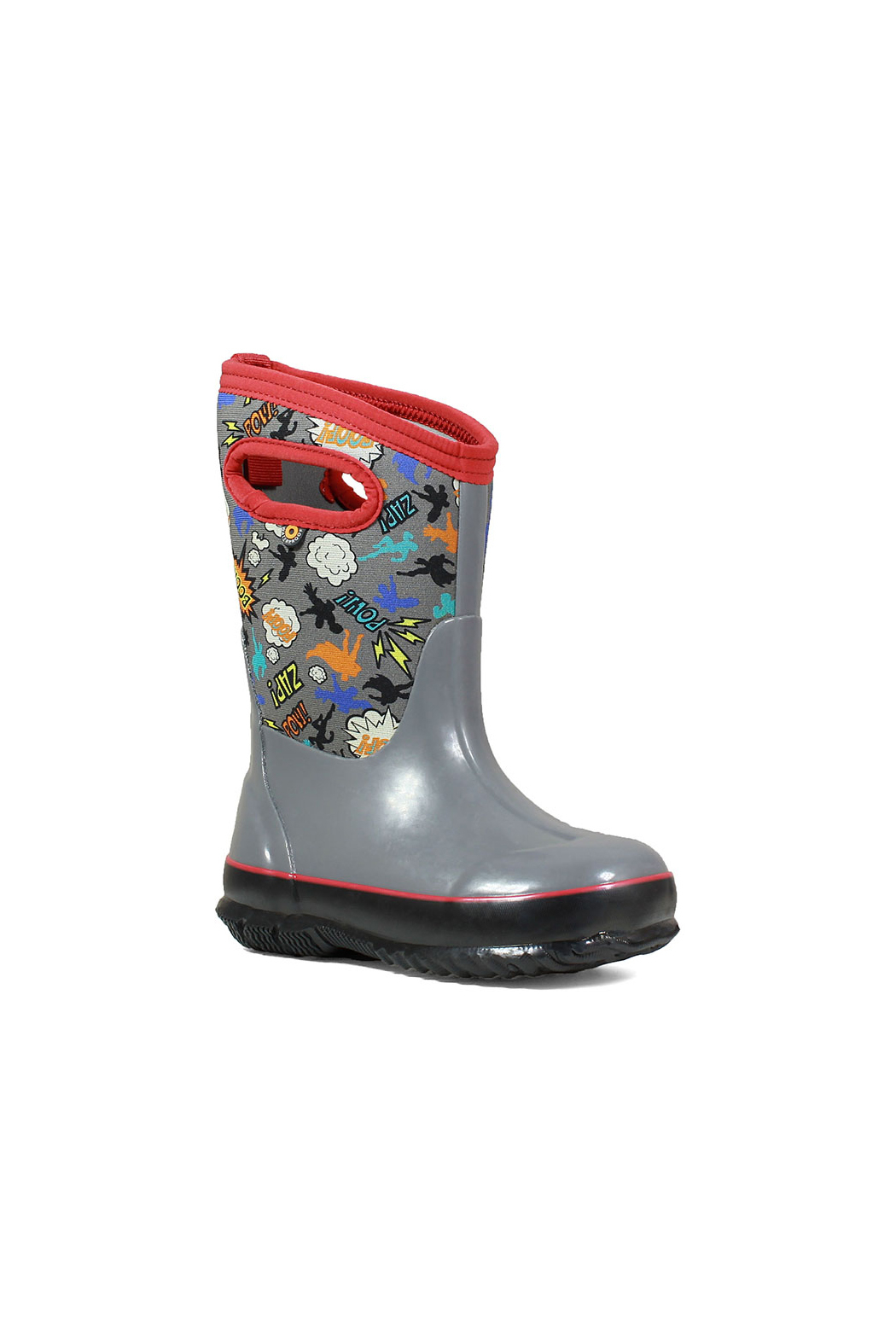 BOGS Classic Superhero Kids Insulated Boots - Front Full Image