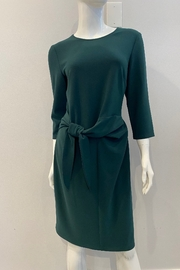 Frank Lyman Classic Tie Dress, Hunter Green - Product Mini Image