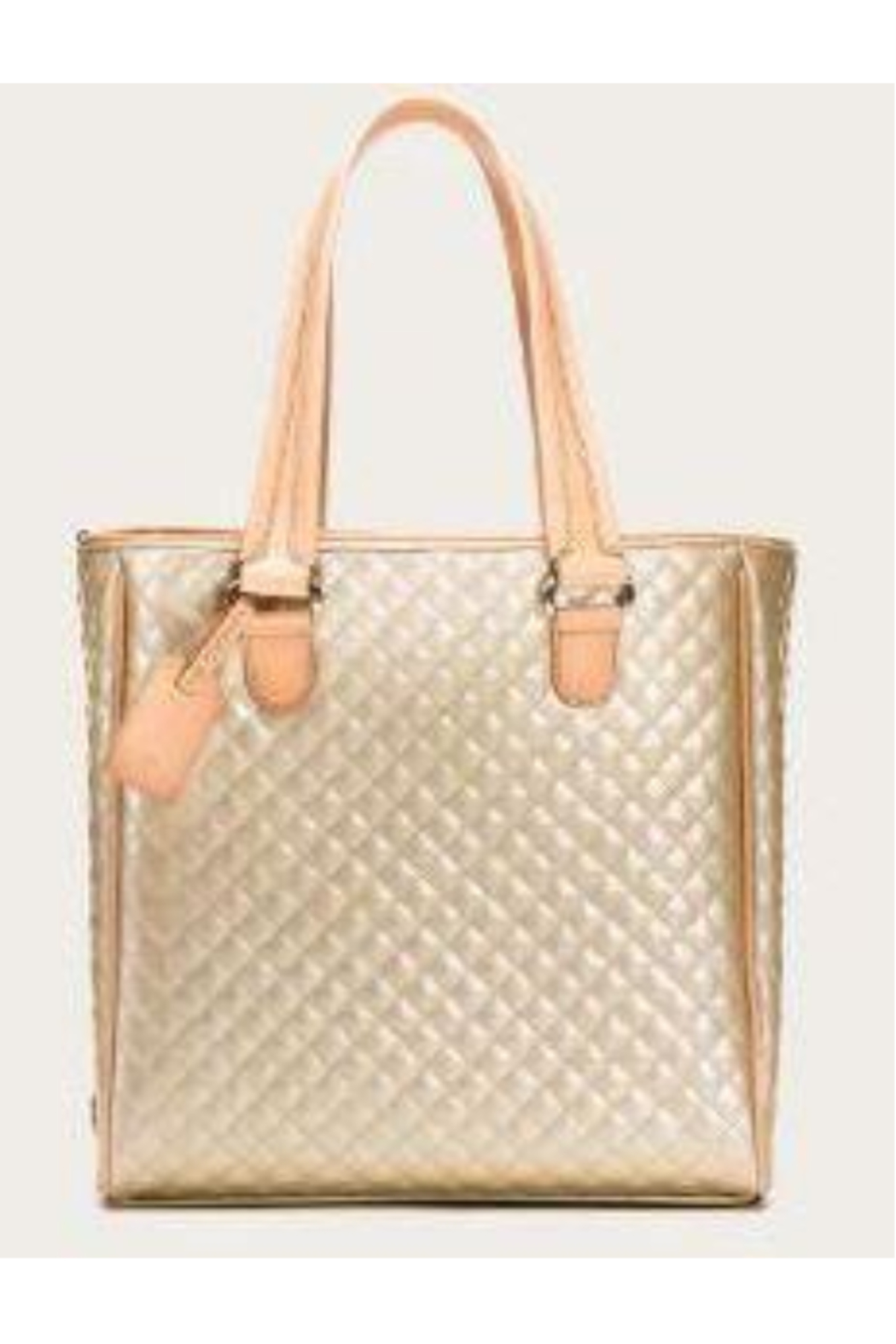 The Birds Nest CLASSIC TOTE-CANDY CHAMPAGNE - Front Full Image