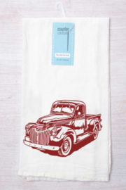 counter couture Classic Truck Tea Towel - Product Mini Image