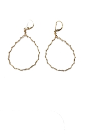 Lets Accessorize Classic Twist Drop-Earring - Product Mini Image