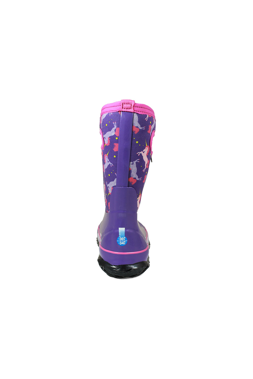 BOGS Classic Unicorn Kids Insulated Boots - Back Cropped Image