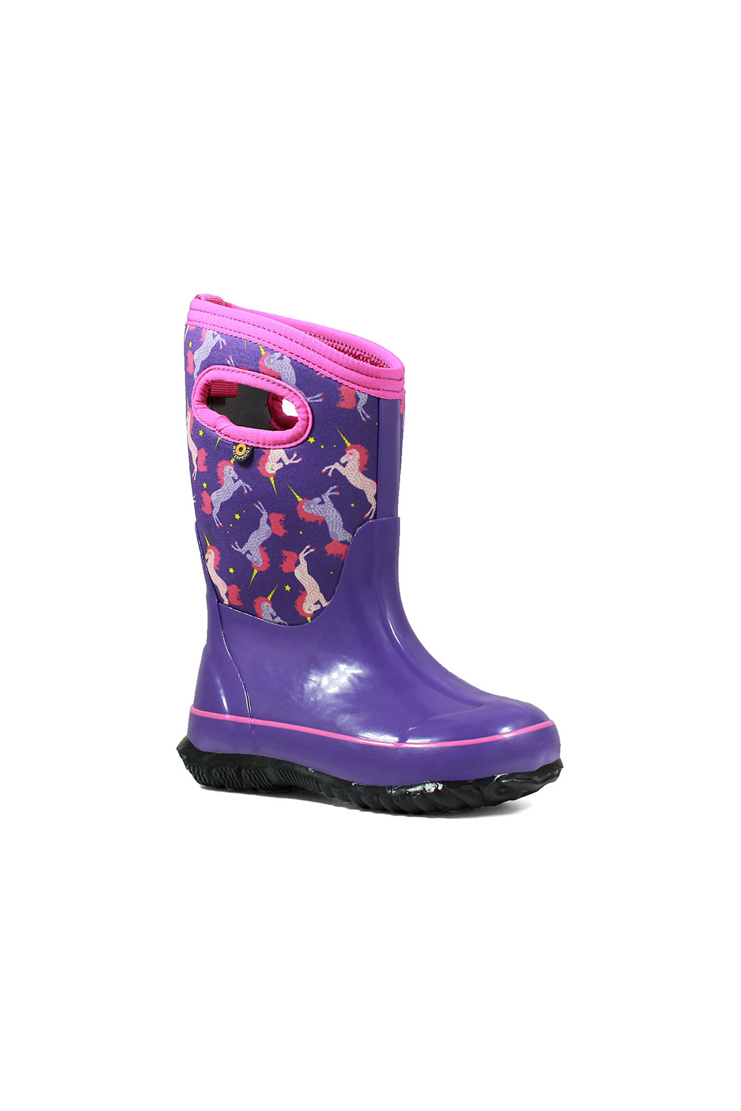 BOGS Classic Unicorn Kids Insulated Boots - Front Full Image