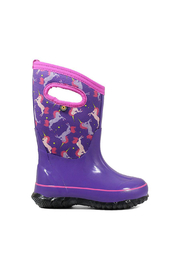 BOGS Classic Unicorn Kids Insulated Boots - Front cropped
