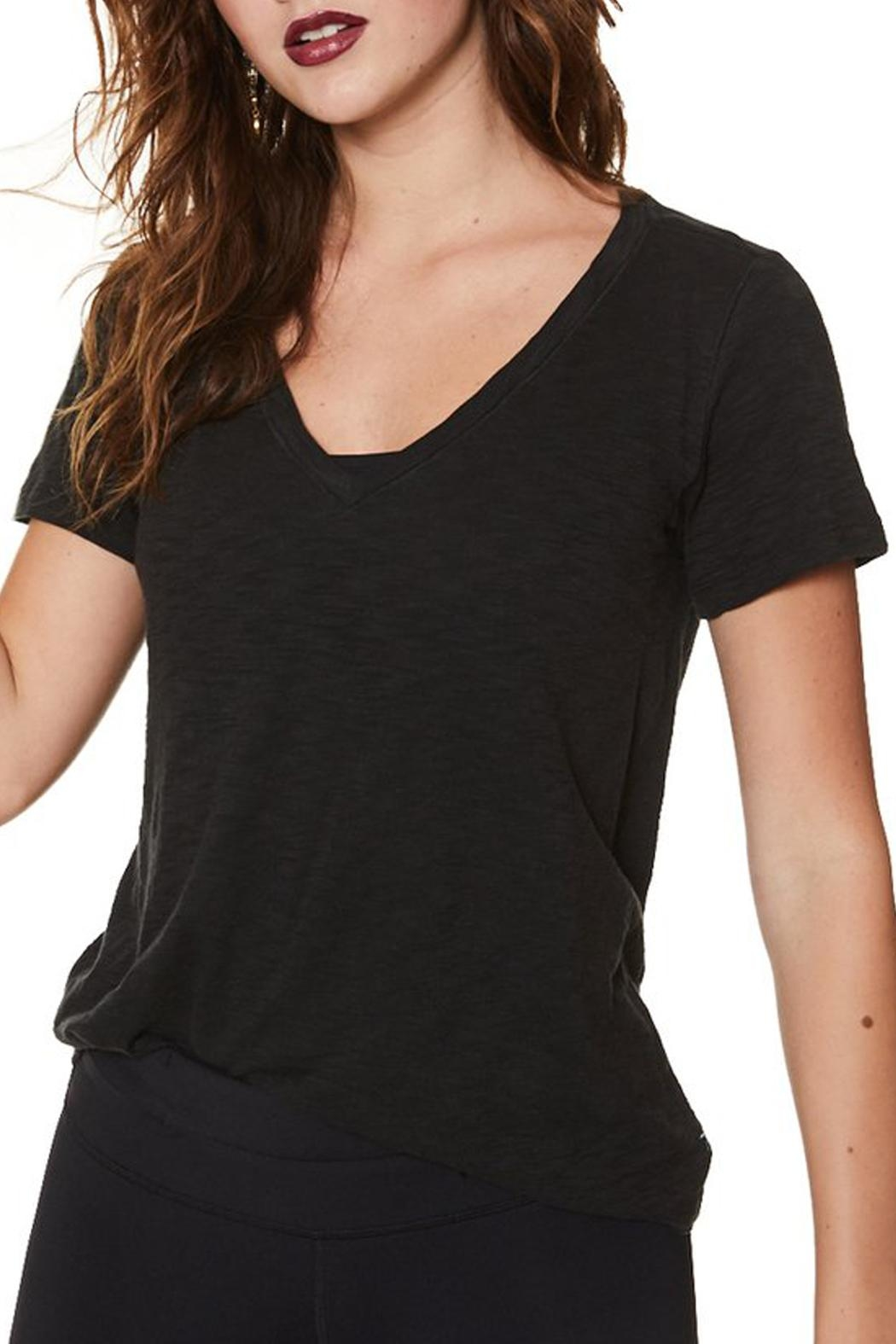 Nancy Rose Classic V-Neck Tee - Front Cropped Image
