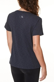 Nancy Rose Classic V-Neck Tee - Side cropped