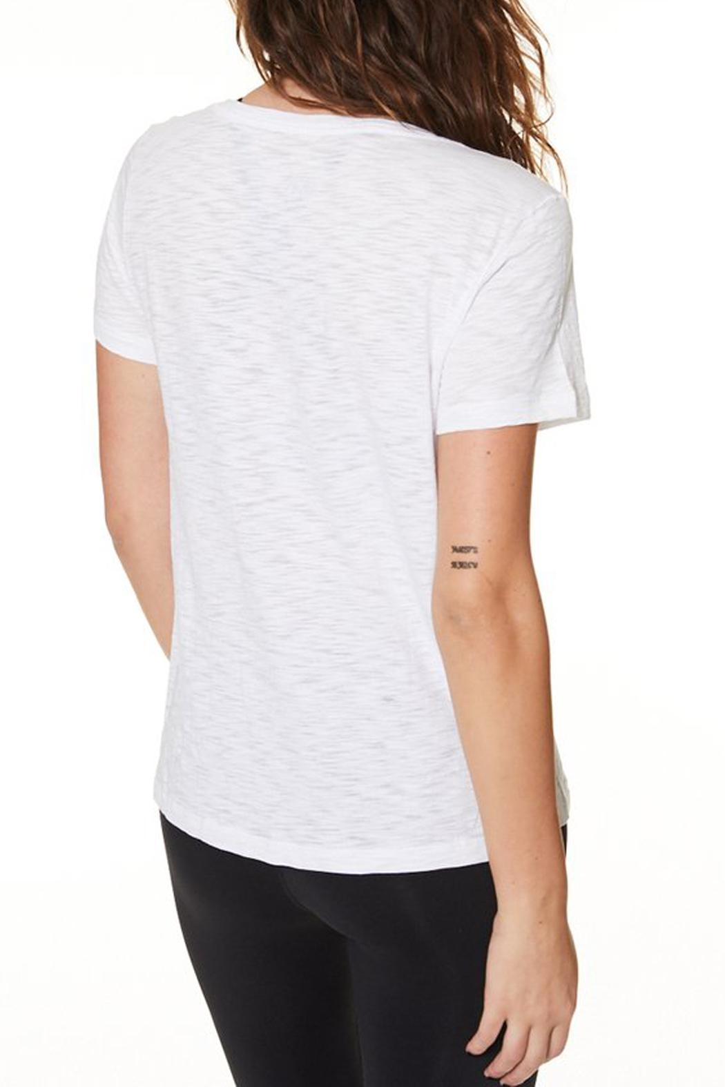 Nancy Rose Classic V-Neck Tee - Side Cropped Image