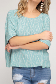 She and Sky Classic Vibes top - Product Mini Image