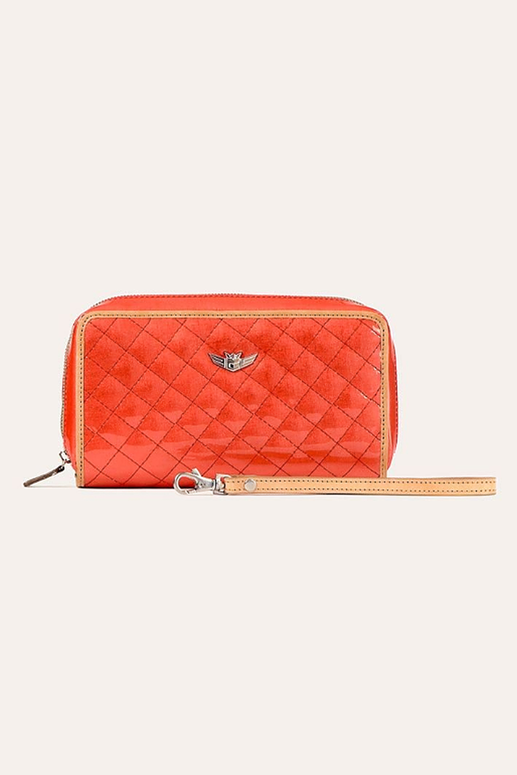 The Birds Nest CLASSIC WRISTLET WALLET -CANDY CAYENNE - Main Image