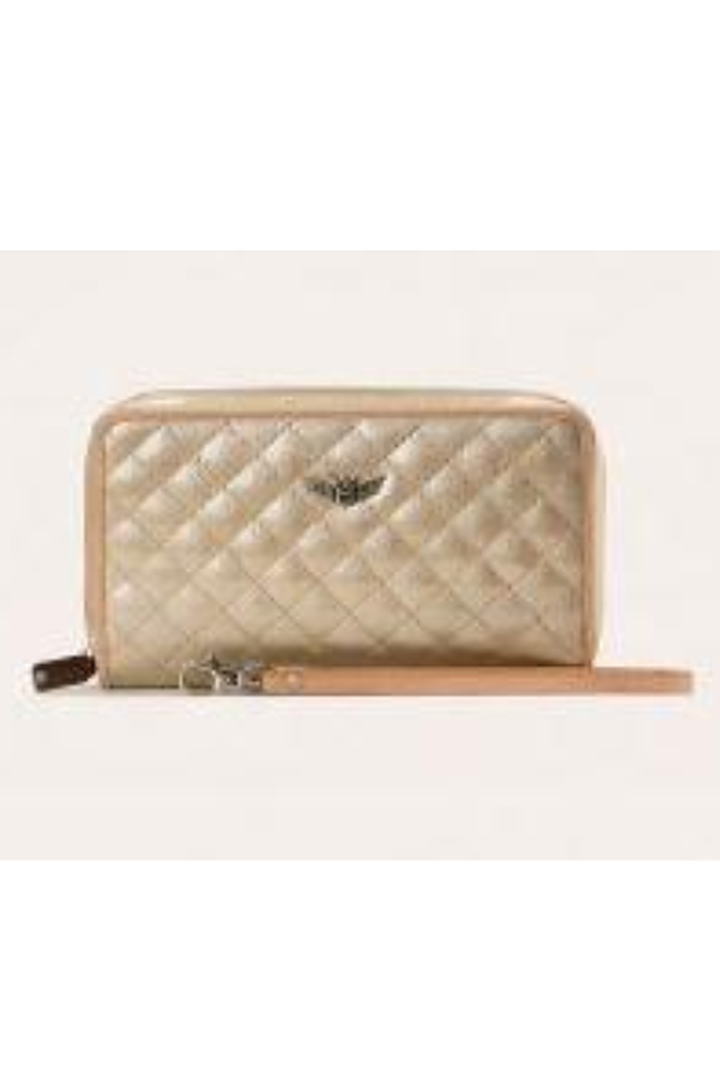 The Birds Nest CLASSIC WRISTLET WALLET-CANDY CHAMPAGNE - Main Image