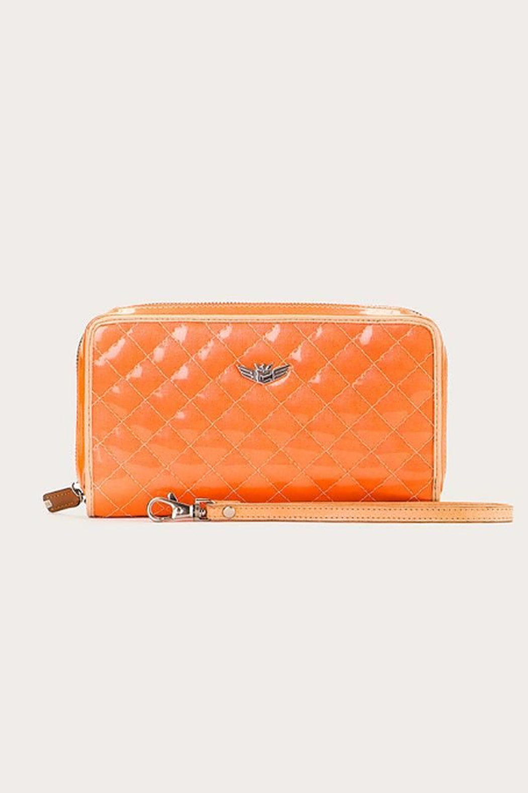 The Birds Nest CLASSIC WRISTLET WALLET-CANDY TANGERINE DREAM - Main Image