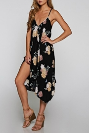 Classic Trendz Boutique Floral Handkerchief Dress - Back cropped