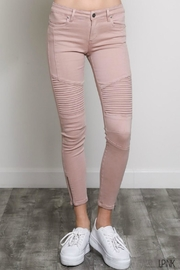Classic Trendz Boutique Moto Skinny Jean - Front cropped