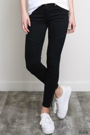 Classic Trendz Boutique Moto Skinny Jeans - Product Mini Image