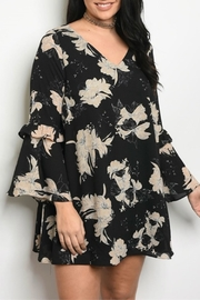 Classic Trendz Boutique Plus-Size Floral Dress - Product Mini Image