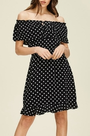 Classic Trendz Boutique Polka Dot Dress - Front cropped