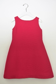 Barcarola Classy Red Dress - Side cropped