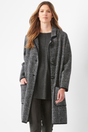 Charlie Paige  Classy Sweater Coat - Front full body
