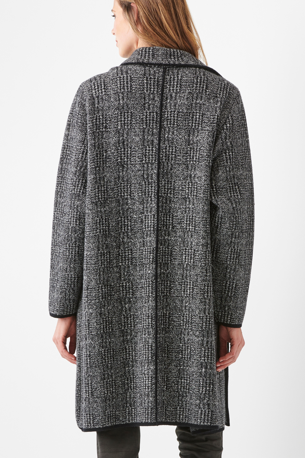 Charlie Paige  Classy Sweater Coat - Side Cropped Image