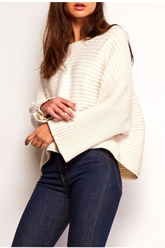 Shoptiques Product: Claudel Wide-Sleeve Sweater