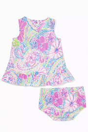 Lilly Pulitzer  Claudia Infant Dress - Side cropped