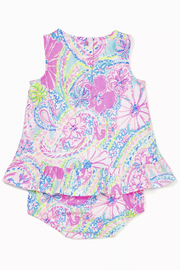Lilly Pulitzer  Claudia Infant Dress - Front full body