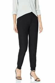 Lysse Claudia jogger with vegan leather trim - Front cropped