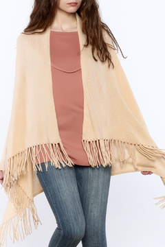 Shoptiques Product: Fringed Cashmere Cardigan