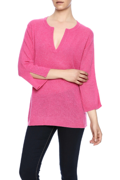 Shoptiques Product: Cashmere Split Neck Sweater