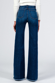 Black Orchid Denim Claudia Wide Leg Jeans - Back cropped