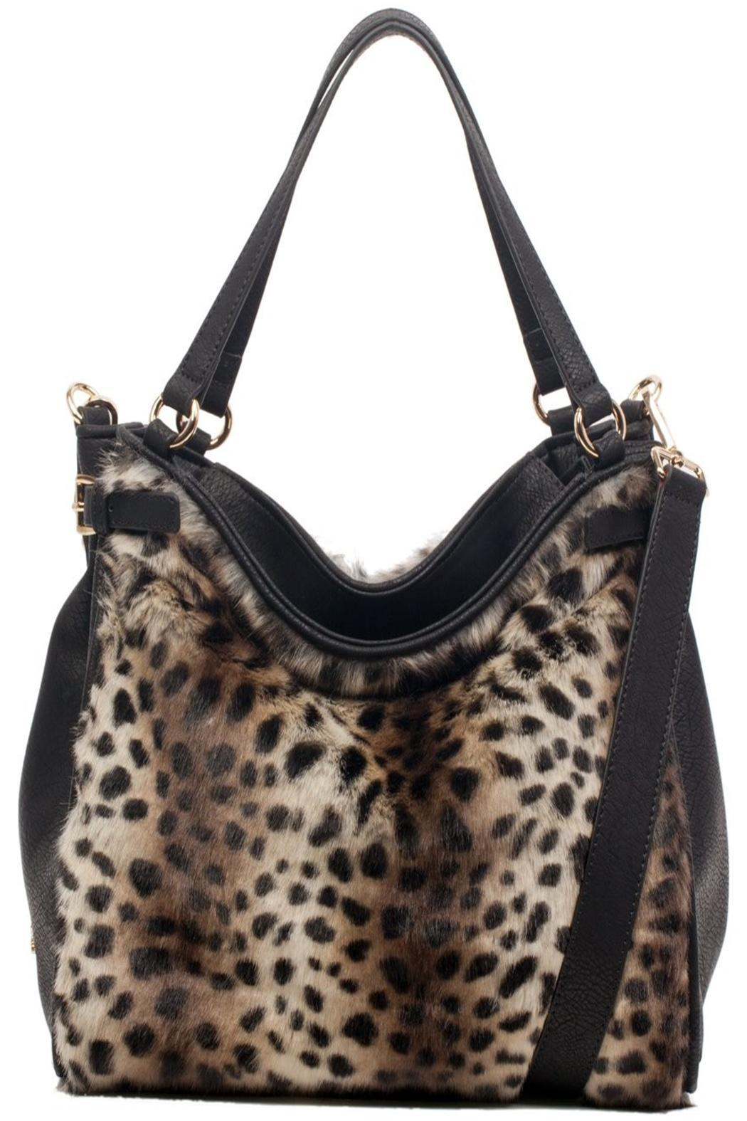c5f6f56ab9 Claudia   Canova Leopard Fur Handbag from Crouch End by Scarecrow ...