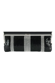 Claudia Canova Diamante Chain-Mail Clutch - Front cropped