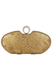 Claudia Canova Snake Metallic Clutches. - Product Mini Image