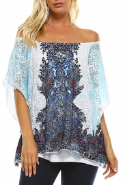 Claudia Richard Lace Dolman Top - Product Mini Image