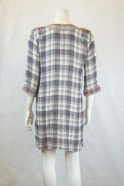 3J Workshop by Johnny Was Claudine Short Caftan - Front full body