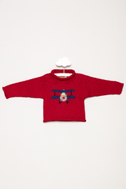 Claver Baby Airplane Sweater - Product Mini Image