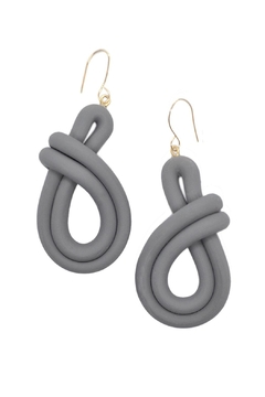 Shoptiques Product: Clay Twist Earrings