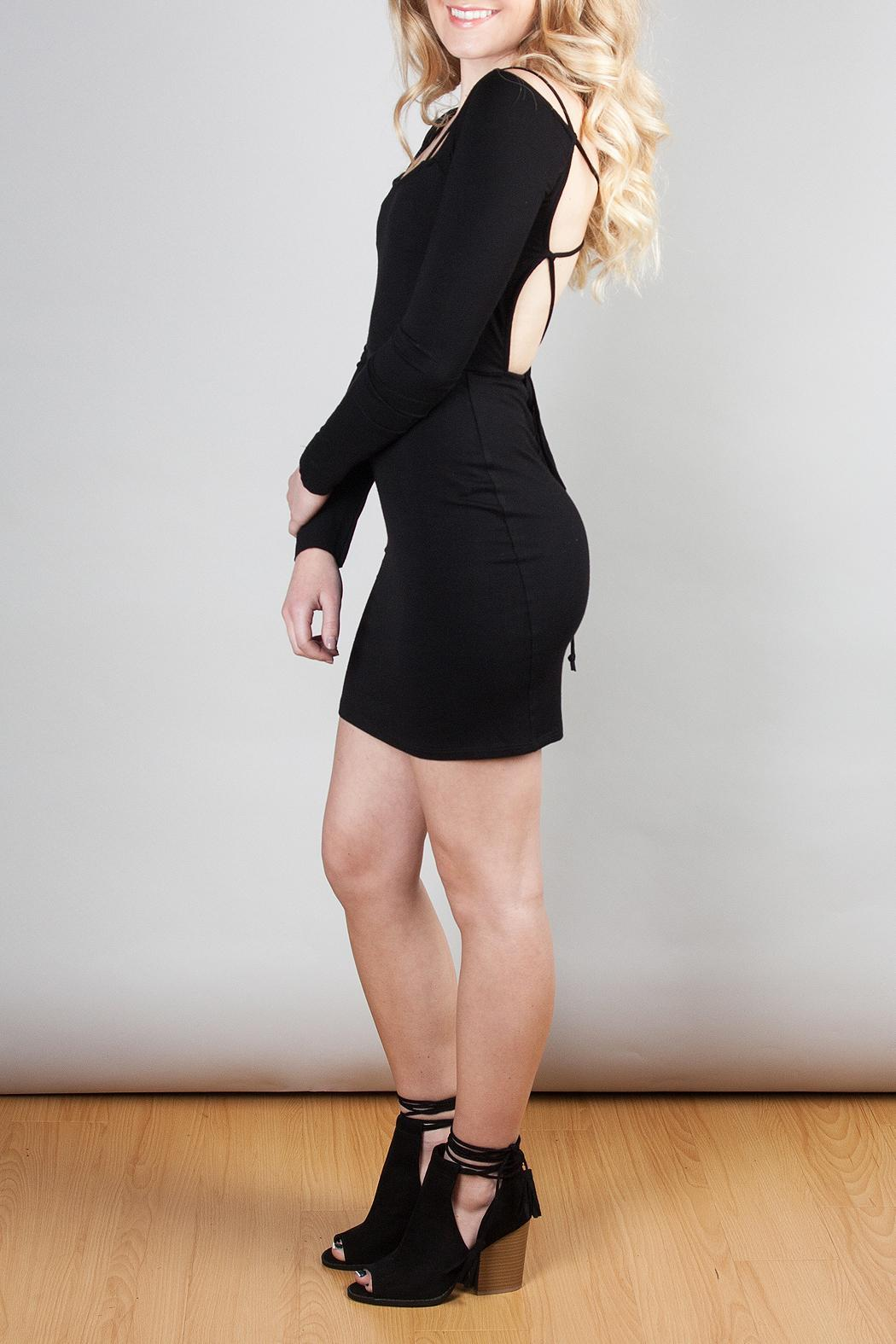 Clayton Cadence Dress - Side Cropped Image