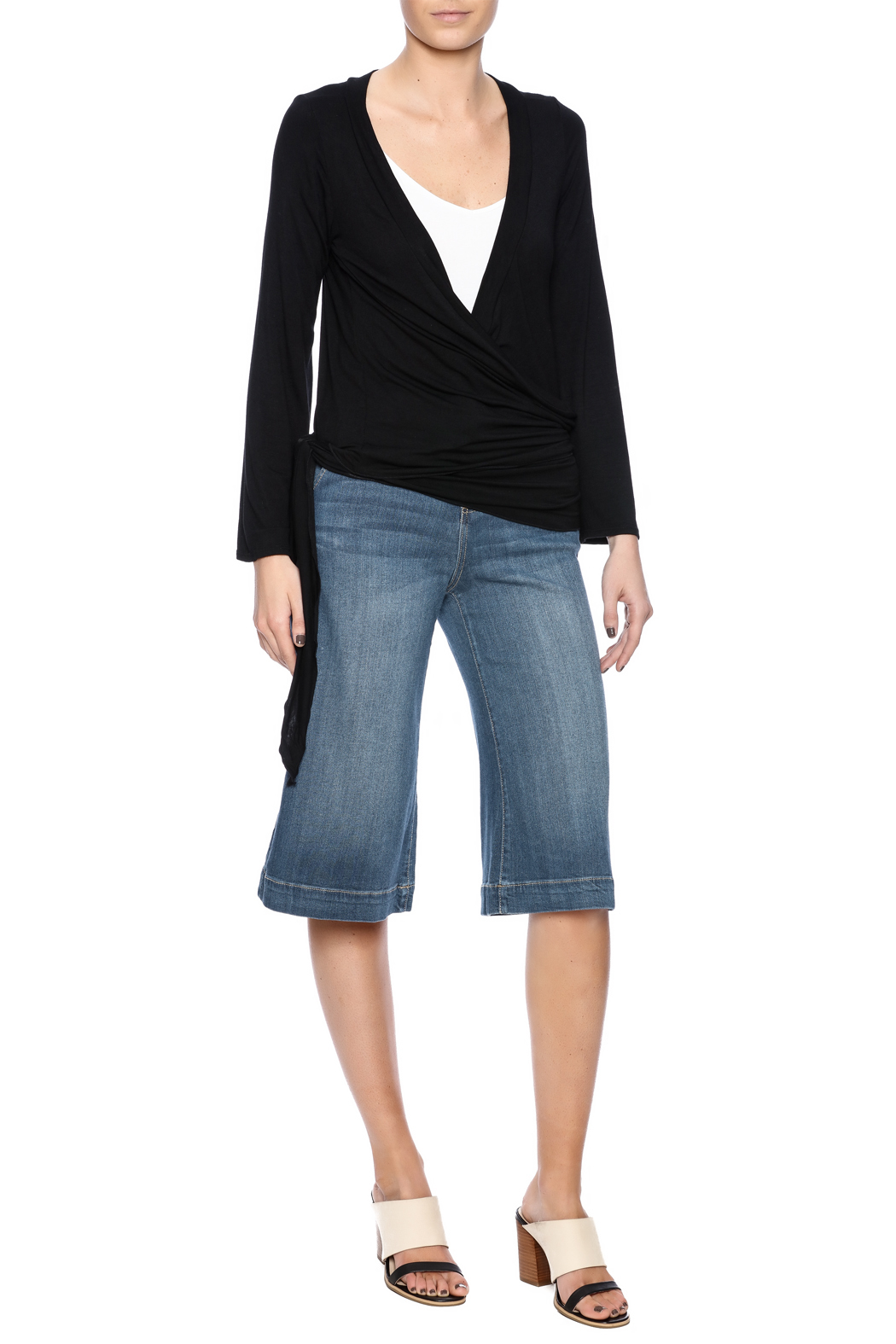 Clea Ray Perfect Wrap Top - Front Full Image