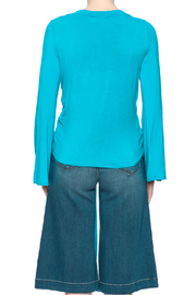 Clea Ray Perfect Wrap Top - Back cropped