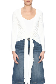 Clea Ray Perfect Wrap Top - Side cropped