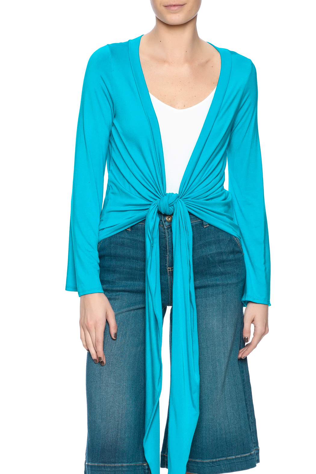 Clea Ray Perfect Wrap Top - Main Image
