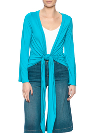 Clea Ray Perfect Wrap Top - Product Mini Image