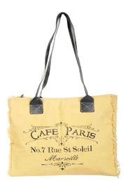 Clea Ray Cafe Paris Tote - Front cropped