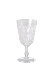 RICE Clear Acrylic Wineglass - Product Mini Image