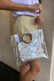 Handbag Express Clear Bag with Geo Pouch - Product Mini Image