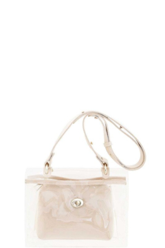 Shoptiques Product: Clear Bag With Pouch