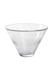 The Birds Nest CLEAR BUBBLE MARTINI GLASS - Product Mini Image