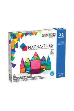 Valtech - MagnaTiles Clear Colors 32 Piece Set - Product List Image