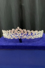Lucky Collections Clear Crystal Tiara - Product Mini Image